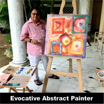 Vijay Darda - Evocative Abstract Painter