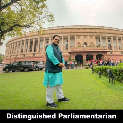 Vijay Darda - Distinguished Parliamentarian for 18 years in Rajya Sabha