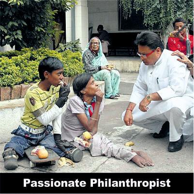 Vijay Darda - Passionate Philanthropist