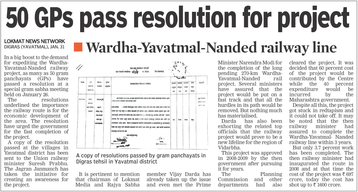 50 GPs pass resolution for project