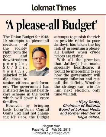 'A please-all Budget'