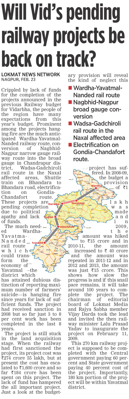 Will Vid's pending railway project be back on track?