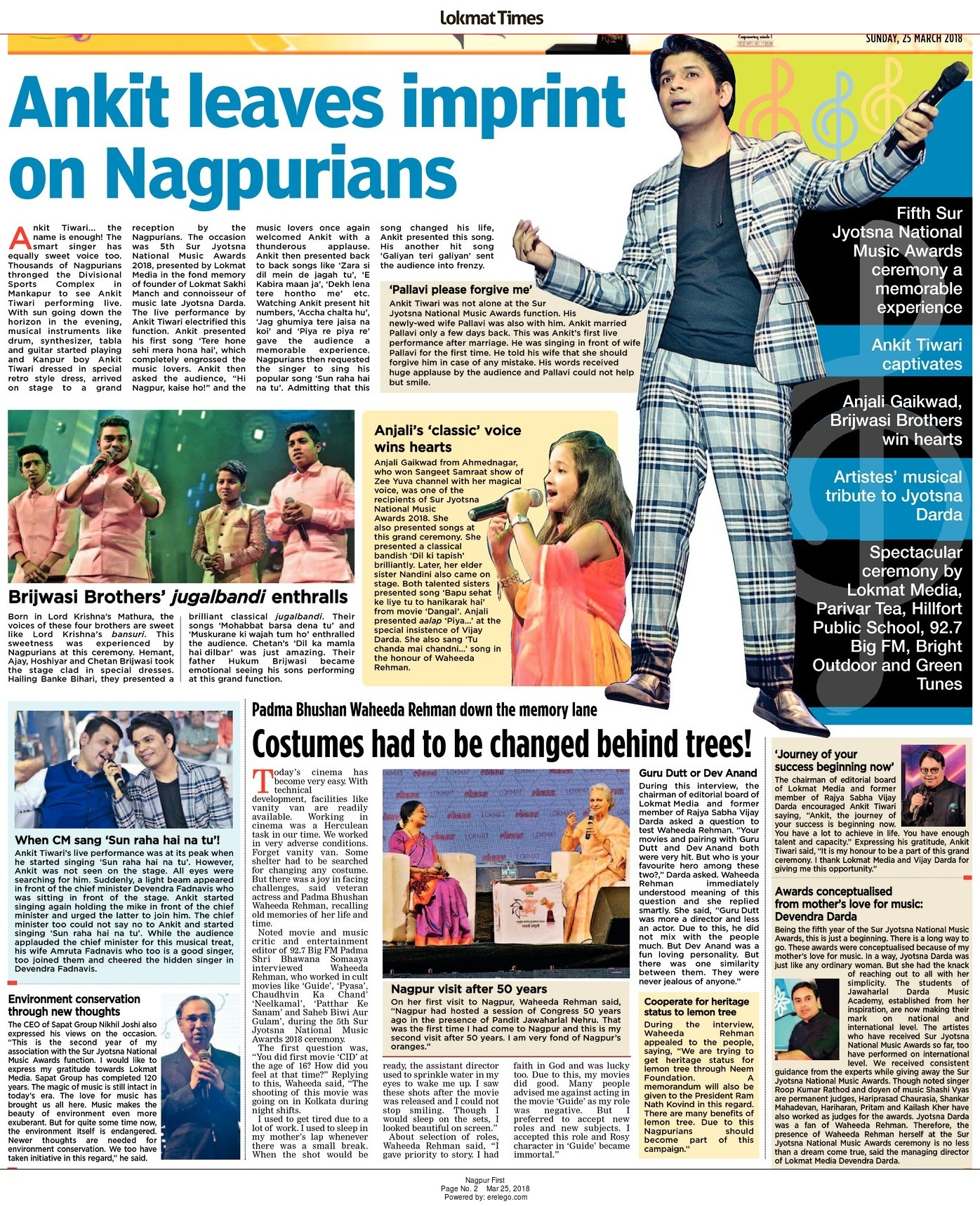 Ankit leaves imprint on Nagpurians