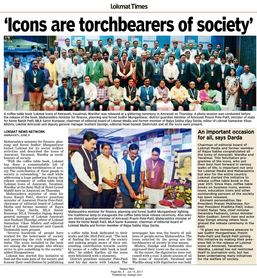 'Icons are torchbearers of society'