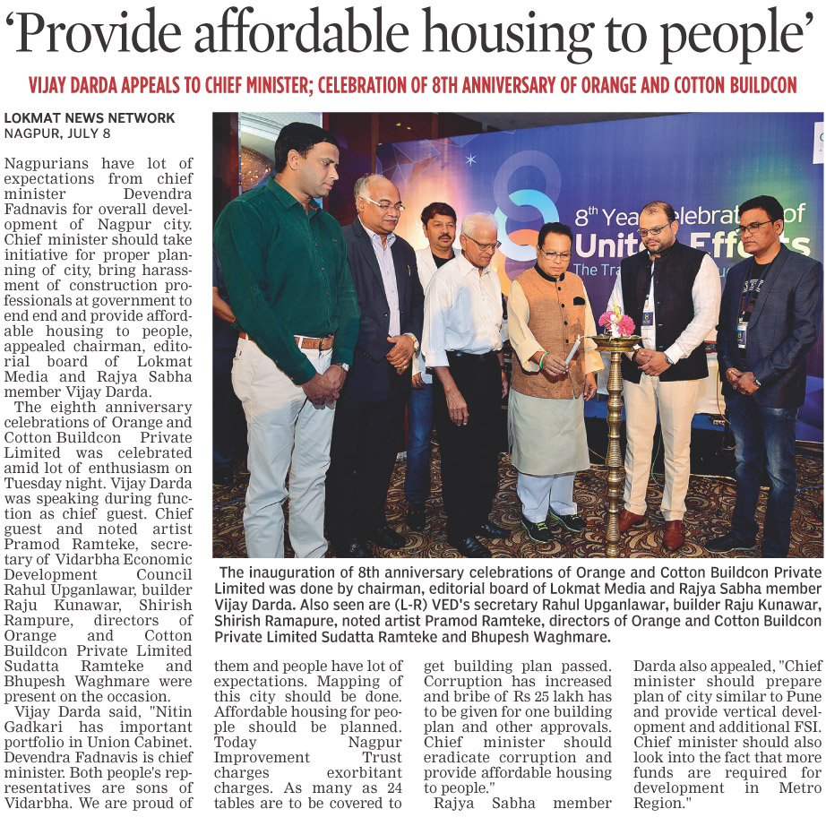 'Provide affordable housing to people'