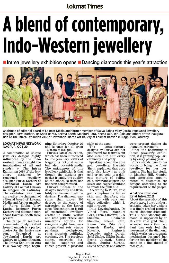 A blend of contemporary, Indo-Western jewellery