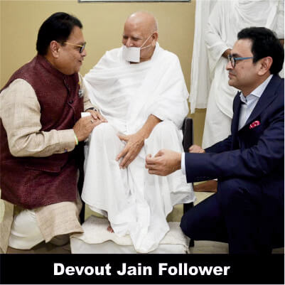 Vijay Darda - Devout Jain Follower
