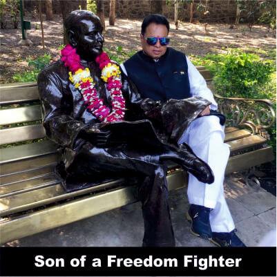 Vijay Darda - son of veteran freedom fighter Jawaharlal Darda (Babuji)