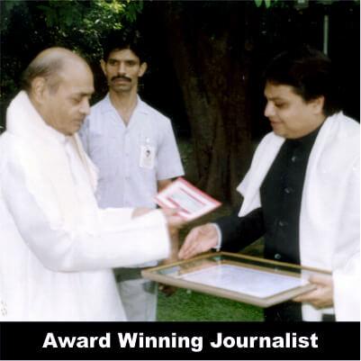 Vijay Darda - Award Winning Journalist