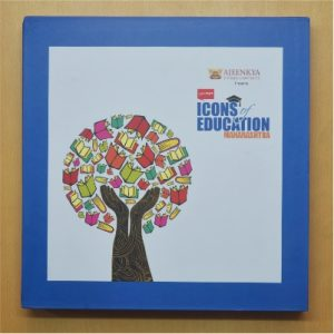 Icons of Education (Maharashtra) - The coffee table book published by Lokmat Media Group in 2016 features 80 exceptional educational establishments of Maharashtra that have redefined the way education is perceived and imparted.